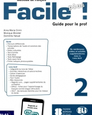 Facile Plus 2 - Guide pour le prof + 2 CD audio