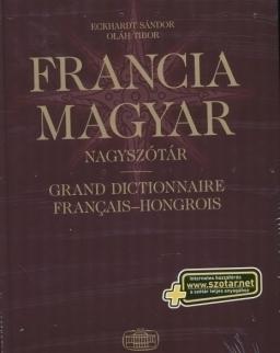 Francia-magyar nagyszótár (Grand dictionnaire francais-hongrois) + szotar.net internetes hozzáférés