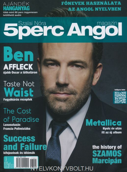 5 Perc Angol Magazin 2017 Január