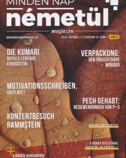 Minden Nap Németül magazin 2019 október