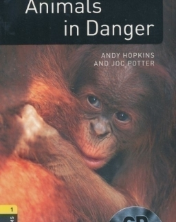 Animals in Danger with Audio CD Factfiles - Oxford Bookworms Library Level 1