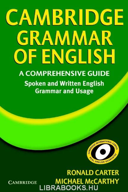 Cambridge Grammar of English - A Comprehensive Guide