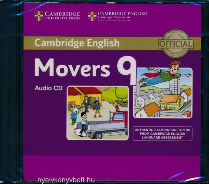 Cambridge English Movers 9 Audio CD