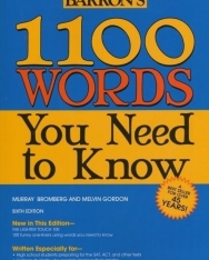 Barron's 1100 Words - You Need to Know - Sixth Edition