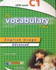 The Vocabulary Files Ielts C1 Teacher's Book - Score 6-7