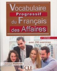 Vocabulaire progressif du français des affaires - Niveau intermédiaire - Livre + CD - 2eme édition