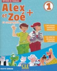 Alex et Zoé + 1 - Niveau A1.1 - Livre de l'éleve + CD