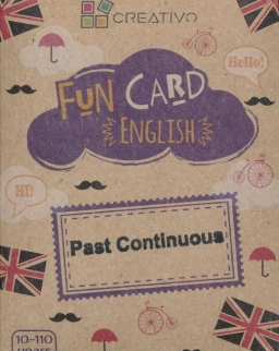 Fun Card English: Past Continuous