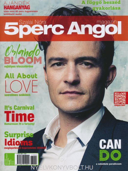 5 Perc Angol Magazin 2017 Február