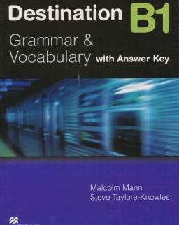 Destination B1 Grammar & Vocabulary with Answer Key