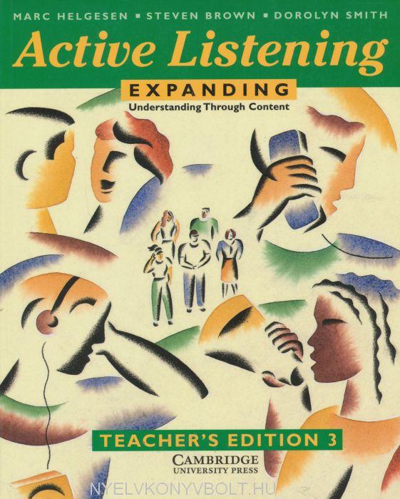 Active Listening: Expanding Understanding through Content Teacher's Book