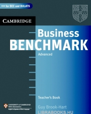 Business Benchmark Advanced - for BEC Higher and BULATS Editions Teacher's Resource Book