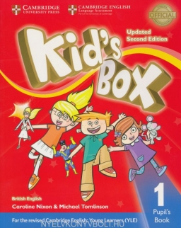 Kid's Box Second Edition Updated 1 Pupil's Book