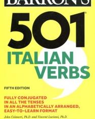 Barron's 501 Italian Verbs