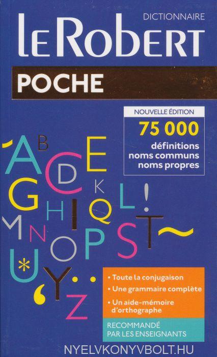 Dictionnaire Le Robert Poche