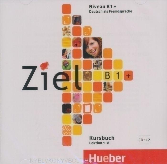 Ziel B1+ Kursbuch Audio CD Band 1 Lektion 1-8