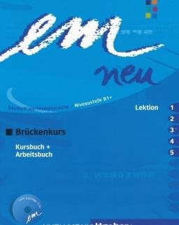 Em neu 2008 Brückenkurs 1-5 Kursbuch + Arbeitsbuch + CD