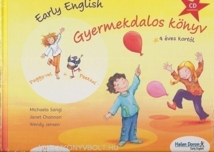 Early English Gyermekdalos könyv 4 éves kortól (CD melléklettel )
