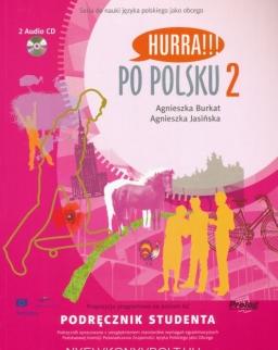 Hurra!!! Po Polsku 2 Podrecznik Studenta + Audio CDs(2)