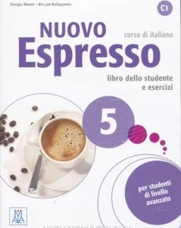 Nuovo Espresso 5 C1 Libro dello studente e esercizi + CD Audio