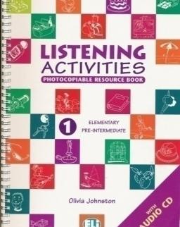 Listening Activities 1 Elementary / Pre-Intermediate + Audio CD