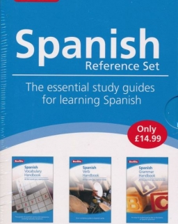 Berlitz Spanish Reference Set - The essential study guides for learning Spanish