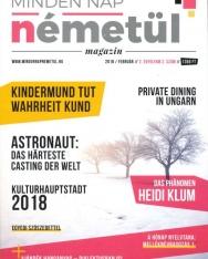 Minden Nap Németül magazin 2018 február