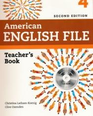 American English File 2nd Edition 4 Teacher's Book