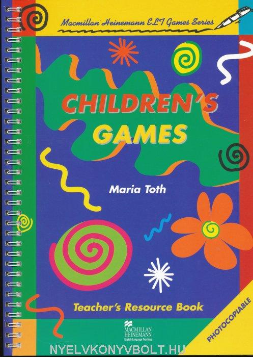 Children's Games Teacher's Resource Book