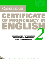 Cambridge Certificate of Proficiency in English 2 Official Examination Past Papers Audio Cassettes (2)