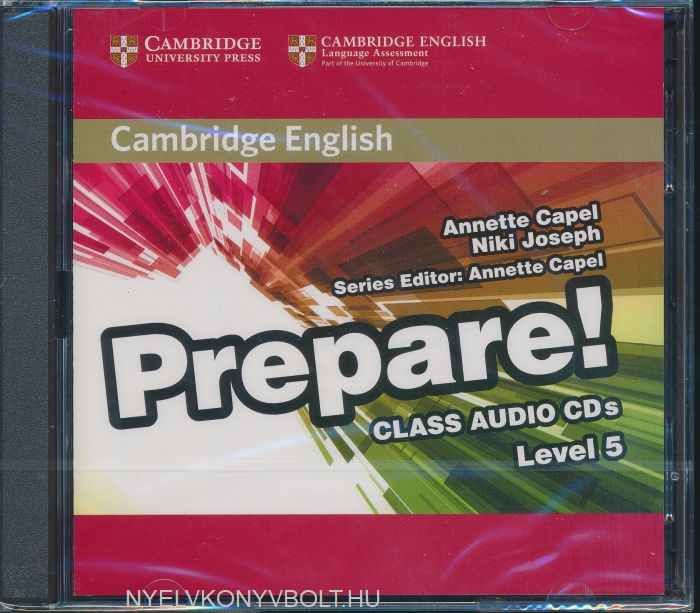 Cambridge English Prepare! Class Audio CDs