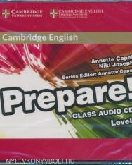 Cambridge English Prepare! Class Audio CDs