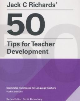 Jack C Richard's 50 Tips for Teacher Development