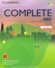 Complete First Workbook with Answers with Audio - Third Edition