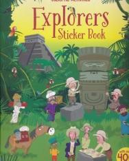 Fiona Watt: Explorers Sticker Book