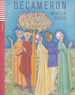 Decameron - Novelle Scelte con CD Audio  - Letture Graduate Giovani Livello 1 Elementare A1