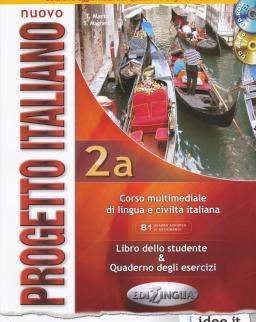 Nuovo Progetto Italiano 2A Libro dello studente & Quaderno degli esercizi + CD-ROM+Audio CD (2013)