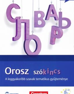 Orosz szókincs - A leggyakoribb szavak tematikus gyűjteménye (MX-595)
