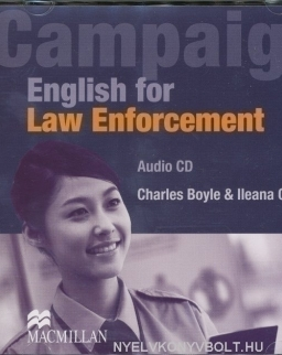 Campaign English for Law Enforcement Audio CD