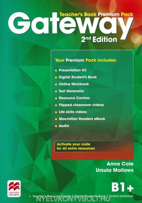 Gateway 2nd Edition B1+ Teacher's Book Pack