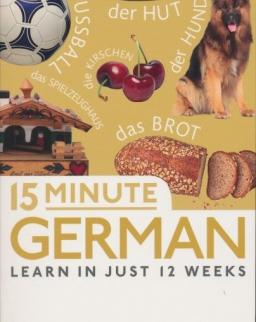 15 Minute German - Learn in just 12 weeks - Free Audio App