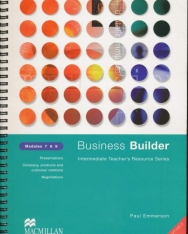 Business Builder Intermediate Teacher's Resource Series Modules 7 8 9