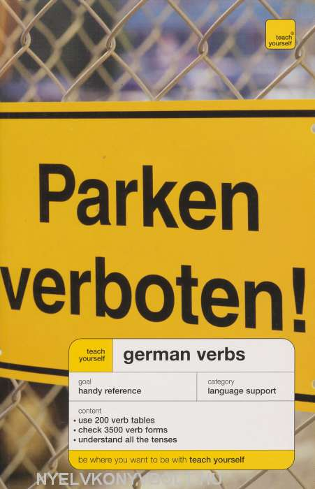 Teach Yourself German Verbs