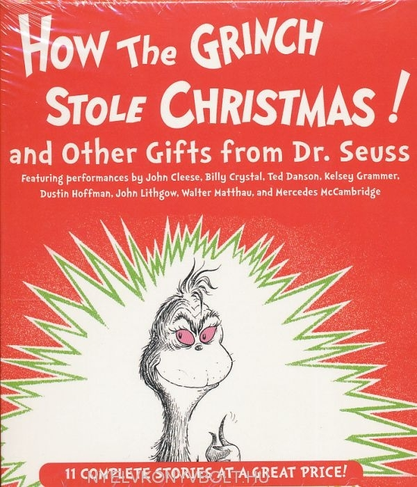 Dr. Seuss: How the Grinch Stole Christmas! and Other Gifts from Dr. Seuss -11 Complete Stories Audio Book 2 CDs