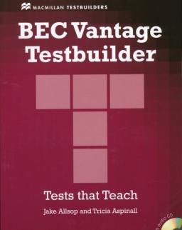 BEC Vantage Testbuilder with Key and Audio CD