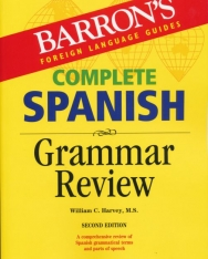 Barron's Complete Spanish Grammar Review