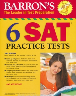 Barron's 6 SAT Practice Tests 3rd Edition