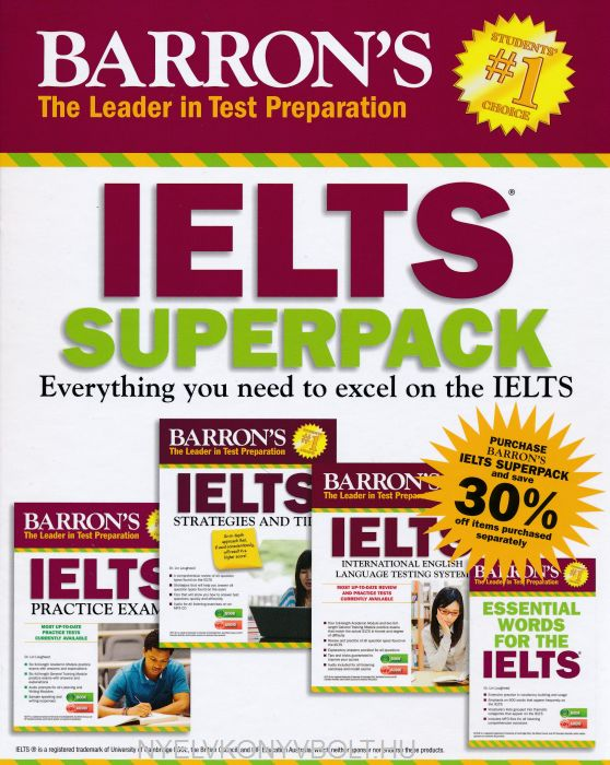 Barron's IELTS Superpack 3rd Edition