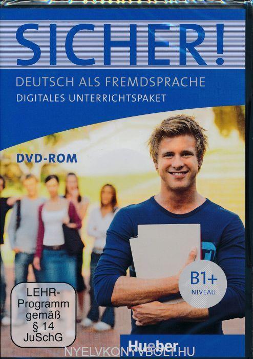 Sicher! B1+ Digitales Unterrichtspaket DVD-Rom