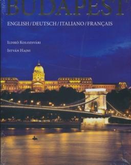 Budapest album (4 nyelvű: angol, német, olasz és francia)
